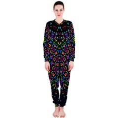 Fractal Texture OnePiece Jumpsuit (Ladies)