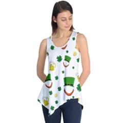 St. Patrick s day pattern Sleeveless Tunic