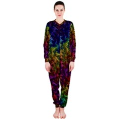Fractal Art Design Colorful Onepiece Jumpsuit (ladies)