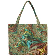 Fractal Artwork Pattern Digital Mini Tote Bag