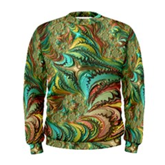Fractal Artwork Pattern Digital Men s Sweatshirt