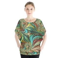Fractal Artwork Pattern Digital Blouse