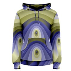 Fractal Eye Fantasy Digital Women s Pullover Hoodie