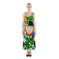 Lucky Irish Sleeveless Maxi Dress