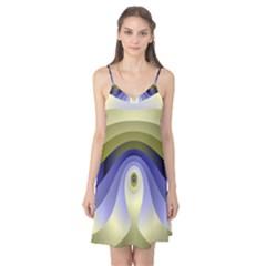 Fractal Eye Fantasy Digital Camis Nightgown