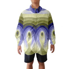 Fractal Eye Fantasy Digital Wind Breaker (Kids)