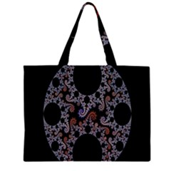 Fractal Complexity Geometric Large Tote Bag