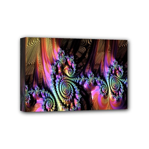 Fractal Colorful Background Mini Canvas 6  x 4