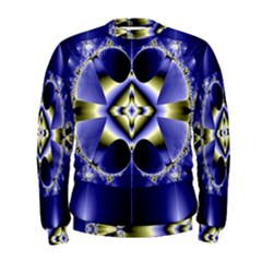 Fractal Fantasy Blue Beauty Men s Sweatshirt
