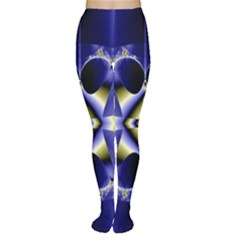 Fractal Fantasy Blue Beauty Women s Tights