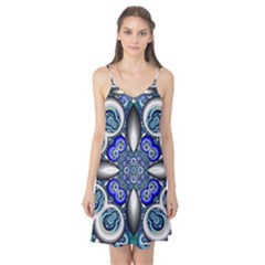 Fractal Cathedral Pattern Mosaic Camis Nightgown