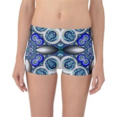 Fractal Cathedral Pattern Mosaic Reversible Bikini Bottoms