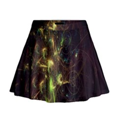Fractal Flame Light Energy Mini Flare Skirt