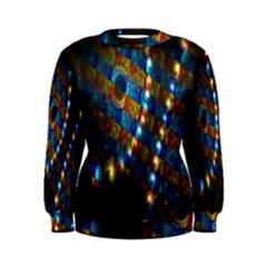 Fractal Digital Art Women s Sweatshirt