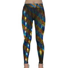 Fractal Digital Art Classic Yoga Leggings