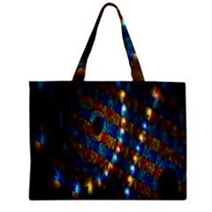 Fractal Digital Art Zipper Mini Tote Bag