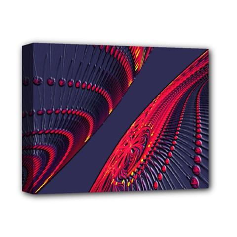 Fractal Fractal Art Digital Art Deluxe Canvas 14  x 11