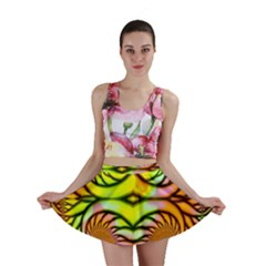 Fractals Ball About Abstract Mini Skirt