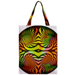 Fractals Ball About Abstract Zipper Classic Tote Bag
