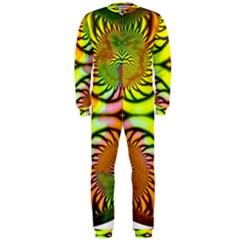 Fractals Ball About Abstract OnePiece Jumpsuit (Men)