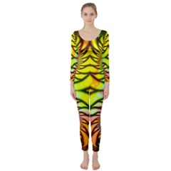 Fractals Ball About Abstract Long Sleeve Catsuit