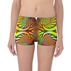 Fractals Ball About Abstract Boyleg Bikini Bottoms