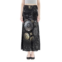 Fractal Sphere Steel 3d Structures Maxi Skirts
