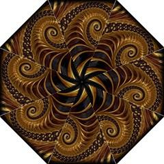 Fractal Spiral Endless Mathematics Straight Umbrellas