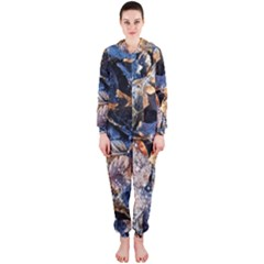 Frost Leaves Winter Park Morning Hooded Jumpsuit (Ladies)