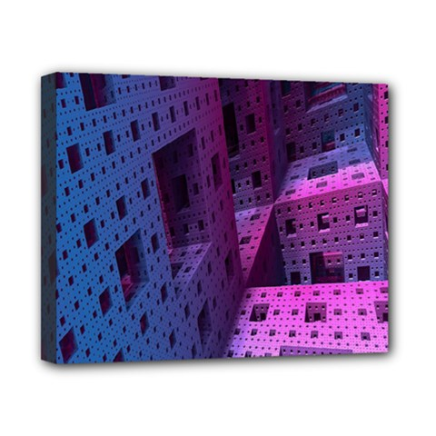 Fractals Geometry Graphic Canvas 10  X 8