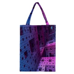 Fractals Geometry Graphic Classic Tote Bag