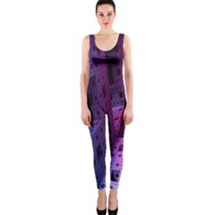Fractals Geometry Graphic OnePiece Catsuit