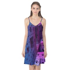 Fractals Geometry Graphic Camis Nightgown