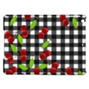 Cherries plaid pattern  iPad Air Hardshell Cases View1