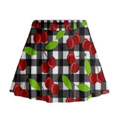 Cherry kingdom  Mini Flare Skirt