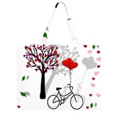 Love design Large Tote Bag
