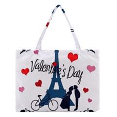 Valentine s day - Paris Medium Tote Bag
