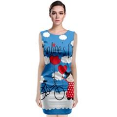 Girls daydream Classic Sleeveless Midi Dress