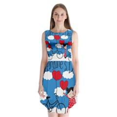 Girls daydream Sleeveless Chiffon Dress
