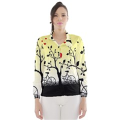 Romantic sunrise Wind Breaker (Women)