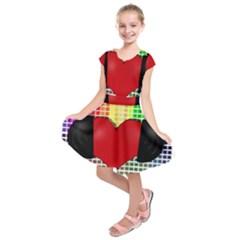 Music Kids  Short Sleeve Dress