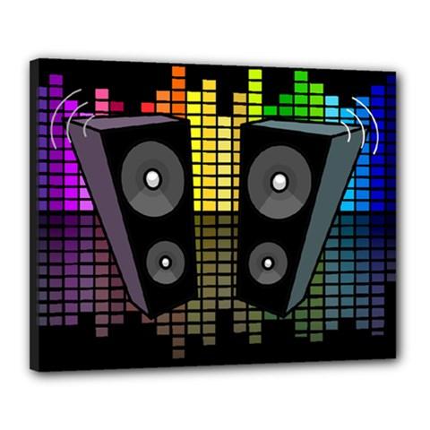 Loudspeakers  Canvas 20  x 16