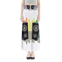 Loudspeakers - transparent Maxi Skirts
