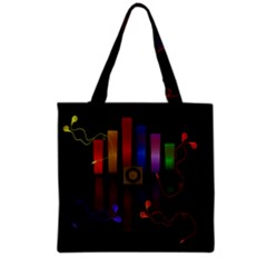 Energy Of The Sound Grocery Tote Bag
