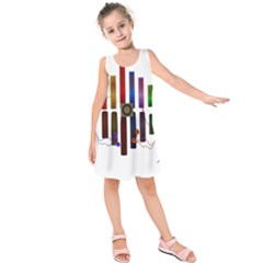 Energy of the sound Kids  Sleeveless Dress