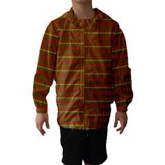 Fugly Christmas Xmas Pattern Hooded Wind Breaker (Kids)