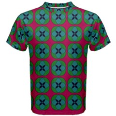 Geometric Patterns Men s Cotton Tee