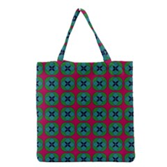 Geometric Patterns Grocery Tote Bag