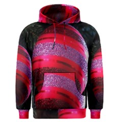 Glass Ball Decorated Beautiful Red Men s Pullover Hoodie