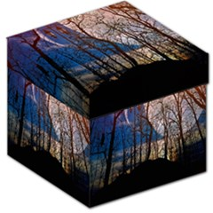 Full Moon Forest Night Darkness Storage Stool 12